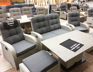 The sofa sets for sale in reclining
